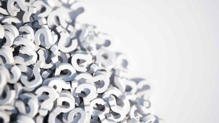 Viele Fragezeichen für die Frage: Welche Backup-Methoden gibt es?