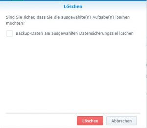 Initialer Ingest Synology Diskstation via Frachter 24